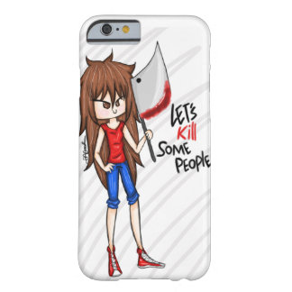 Matemos a algún iPhone 6/6s, caso de la gente Funda Barely There iPhone 6