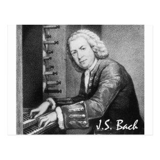 Materia de Johann Sebastian Bach Postal