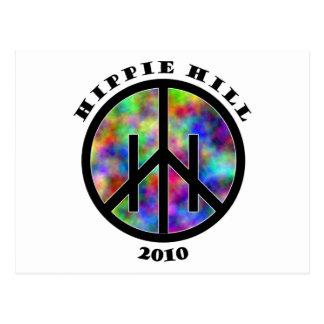 Materia de la colina del Hippie Postal