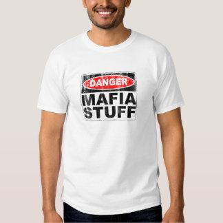 Materia de la mafia camiseta