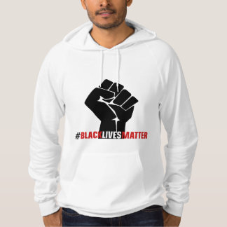 Materia de las vidas del negro de la protesta del sudadera