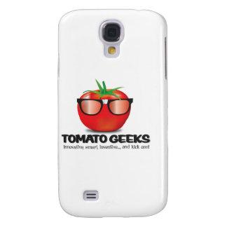 Materia del friki del tomate samsung galaxy s4 cover