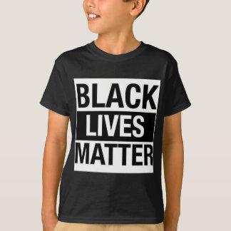 Materia negra de las vidas camiseta