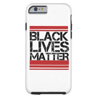 Materia negra de las vidas funda resistente iPhone 6