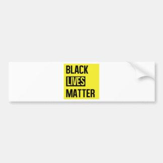 Materia negra de las vidas pegatina para coche