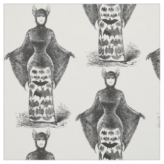 Materia textil de la mujer del palo del victorian tela