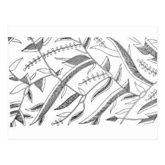 Materia textil frondosa indonesia postal