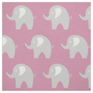 Materia textil gris rosada de la tela DIY del