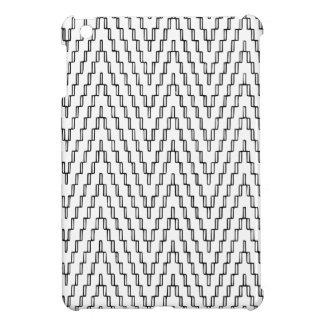 Materia textil indonesia ondulada abstracta