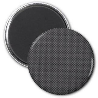 Material de la fibra de carbono de Kevlar Imán Redondo 5 Cm