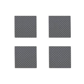 Material de la fibra de carbono de Kevlar Imán De Piedra