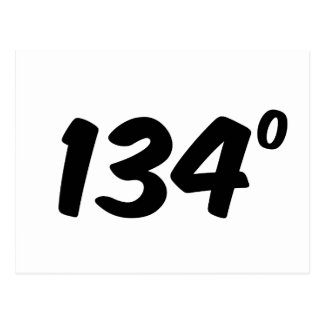 Material de primera 134 grados de ingenioso postal