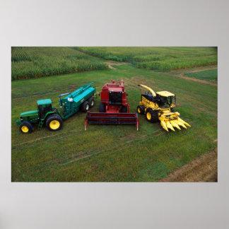 Materiales agrícolas póster