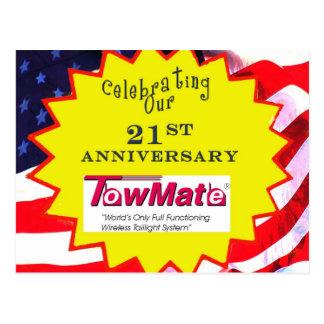 Materiales promocionales del aniversario de TM Postal