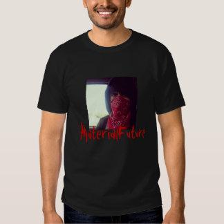 MaterialFuture escrito en sangre Camiseta