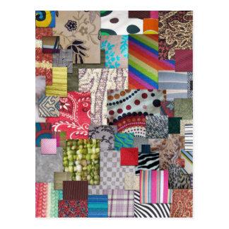 Materias textiles postal