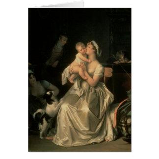 Maternidad, 1805 tarjeton