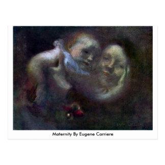 Maternidad de Eugene Carriere Tarjeta Postal
