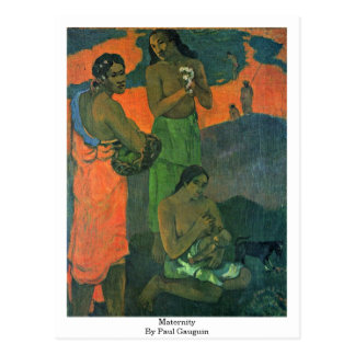 Maternidad de Paul Gauguin Postales