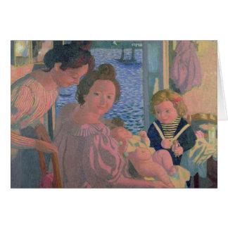 Maternidad en Pouldu, igualando Tarjeta De Felicitación