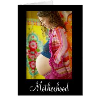 Maternidad Tarjeta Pequeña