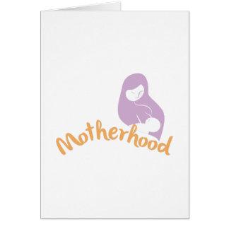 Maternidad Tarjeta De Felicitación