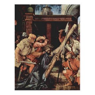 Matías Grünewald- Cristo que lleva la cruz Postal