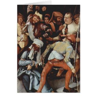 Matías Grünewald- el imitar de Cristo Tarjeta De Felicitación