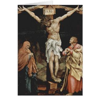 Matías Grünewald- la crucifixión Tarjeta De Felicitación