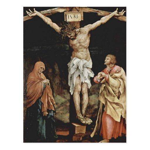 Matías Grünewald- la crucifixión Tarjeta Postal
