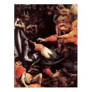 Matías Grünewald- la tentación de St Anthony Postal