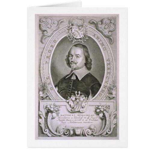 Matías Mylonius Biorenklou (1607-71) de 'Portr Felicitación