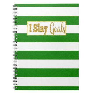Mato el cuaderno de las metas
