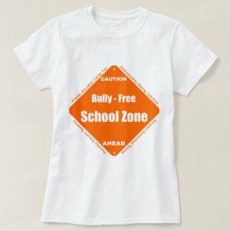 Matón - zona de la escuela libre camisetas