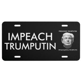 Matrícula Acuse a presidente TrumPutin