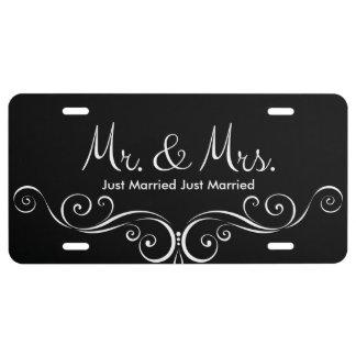 Matrícula Apenas Sr. y señora casados