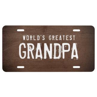 Matrícula El abuelo más grande del mundo - texto de encargo