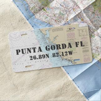 Matrícula Longitud náutica de la latitud de Punta Gorda