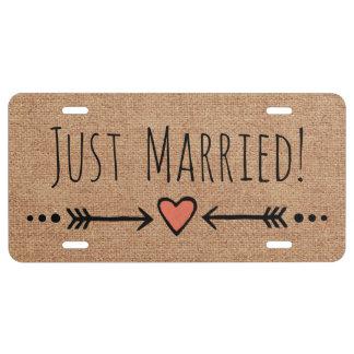 Matrícula Luna de miel: ¡Apenas casado! Falso boda del