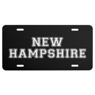 Matrícula New Hampshire