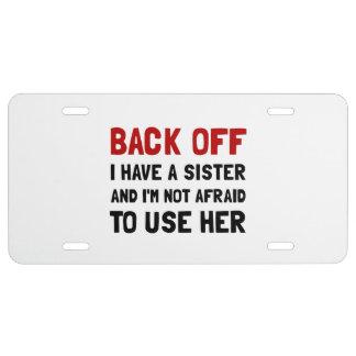 Matrícula Retrocédame tienen una hermana