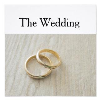 matrimonio invitación 13,3 cm x 13,3cm