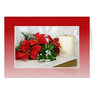 Matrimonio santo tarjeta de felicitación