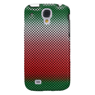 Matriz de punto roja y verde iPhone3G Funda Samsung S4