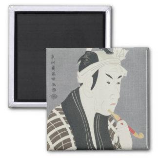 Matsumo Koshiro IV en el papel de Gorebei Imán