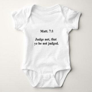 Matt 7 body para bebé