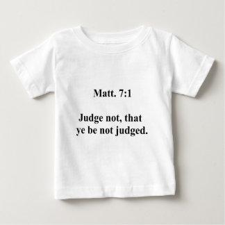 Matt 7 camiseta de bebé