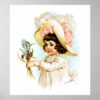 Maud Humphrey: Niño francés Póster