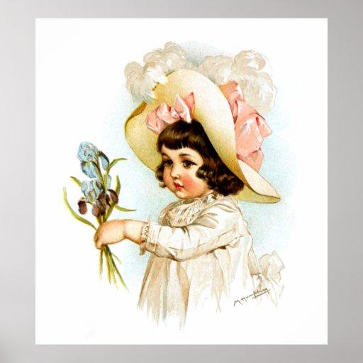 Maud Humphrey: Niño francés Posters