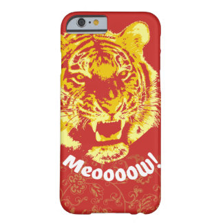 Maullido alfa del tigre - primer funda barely there iPhone 6